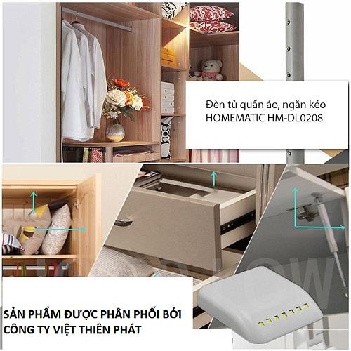 Đèn tủ quần áo, ngăn kéo HOMEMATIC HM-DL0208