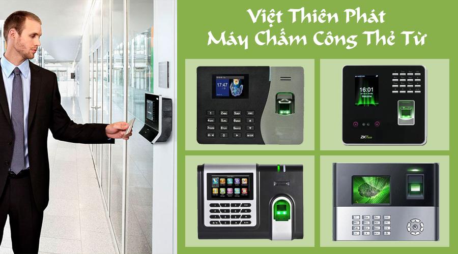 Lắp đặt máy chấm công vân tay, thẻ từ giá rẻ tại Hà Nội