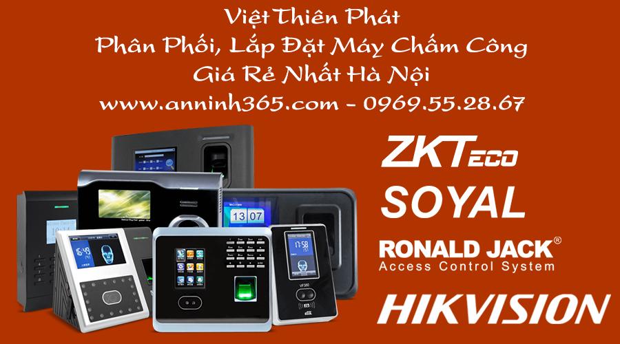 Lắp đặt, sửa chữa máy chấm công giá rẻ tại Hà Nội