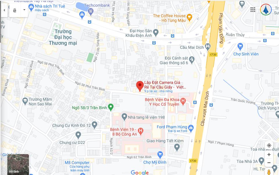 Số 18 ngõ 58 Trần Bình, Cầu Giấy, Hà Nội