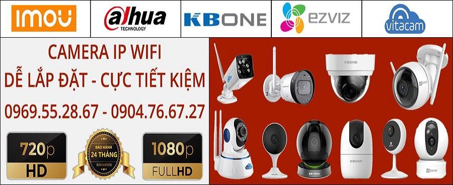Báo giá camera không dây chính hãng tại quận Nam Từ Liêm