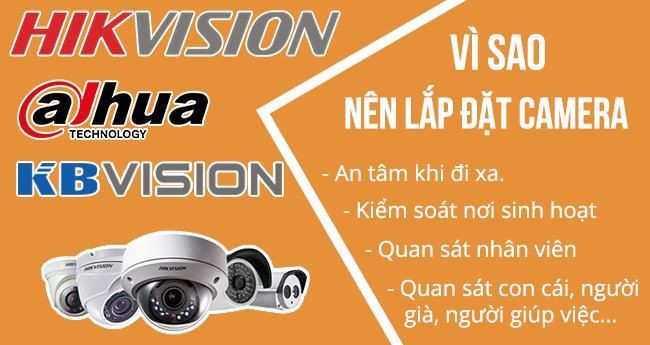 Lắp đặt , sửa chữa camera giá rẻ tại huyện Thanh Trì