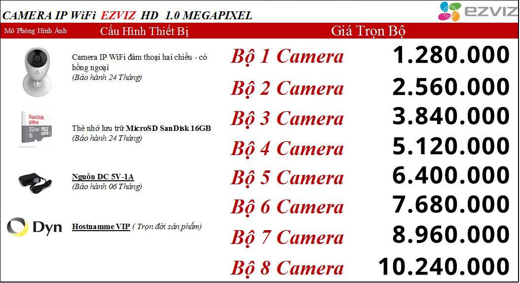 lap dat camera khong day - wifi Hikvision gia re nhat Ha noi
