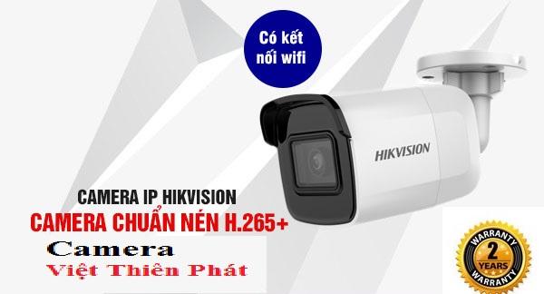 Camera không dây ngoài trời chống nước Hikvision