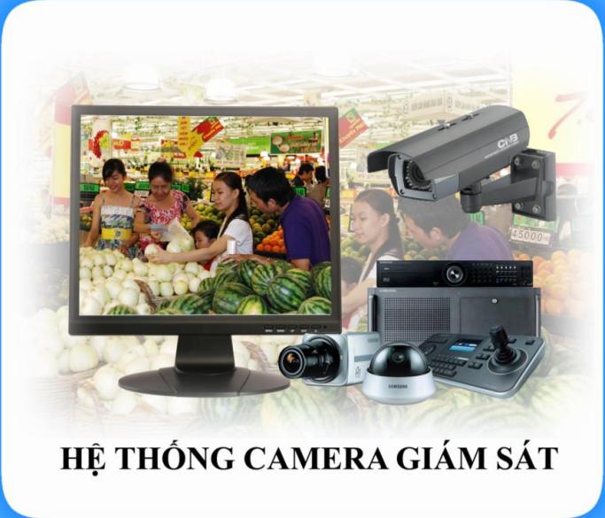 Hệ thống camera giám sát được lắp đặt tại Việt Thiên Phát