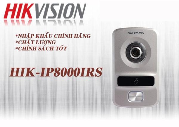 Nút bấm chuông cửa có hình IP Hikvision HIK-IP8000IRS