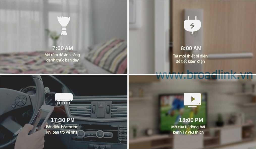 hẹn giờ tự tắt mở thiết bị điện trong nhà - smarthome, nhà thông minh