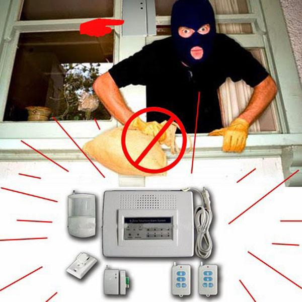 báo động chống trộm, hệ thống báo động