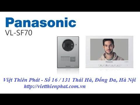 Chuông cửa có hình Panasonic VL- SF70
