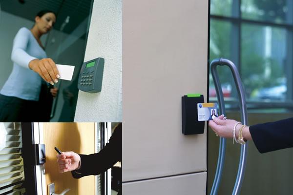 Kiểm soát cửa ra vào bằng thẻ từ