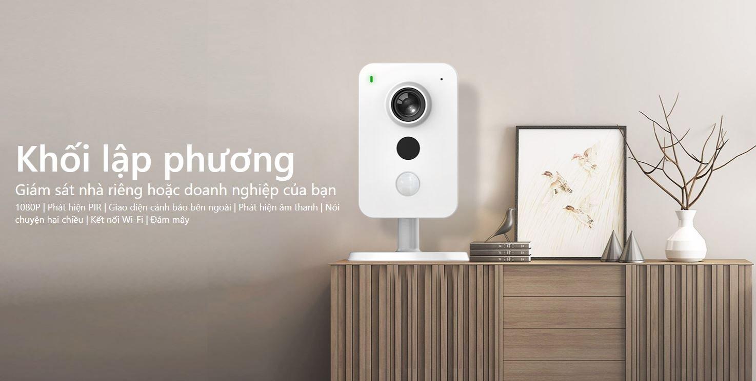 Lắp đặt Camera Wifi IMOU IPC-K22P Cube 2.0MP tại Hà Nội