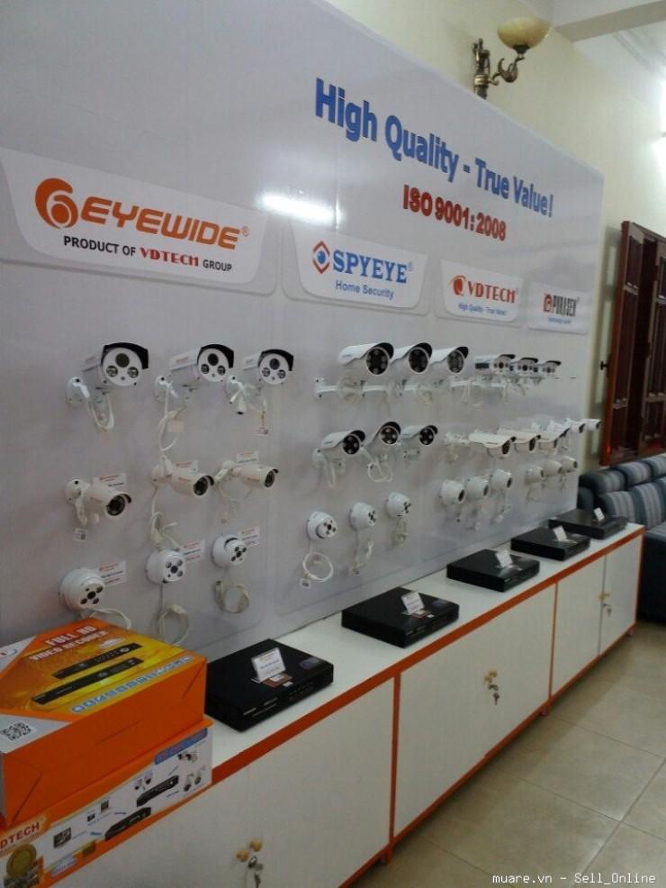 Phân phối lắp đặt camera chính hãng giá rẻ quận Nam Từ Liêm