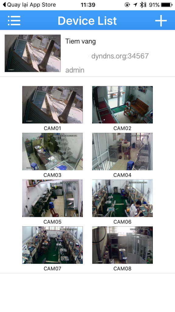 hướng dẫn cài đặt camera vantech trên điện thoại