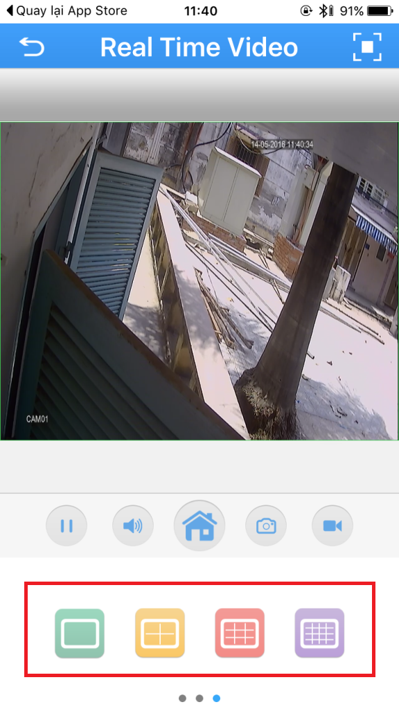 cài đặt camera vantech trên điện thoại