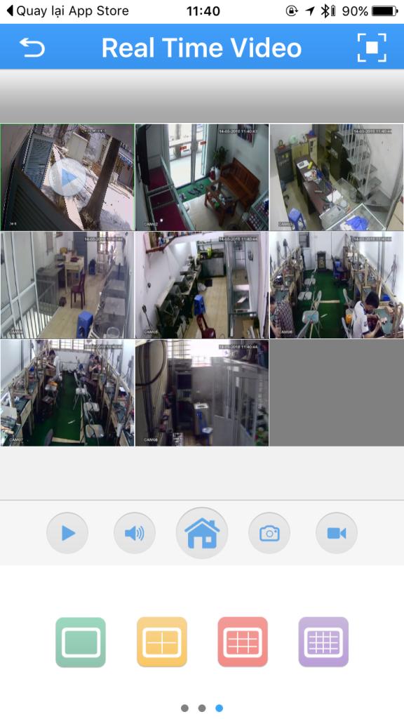 Cách cài đặt camera vantech trên điện thoại
