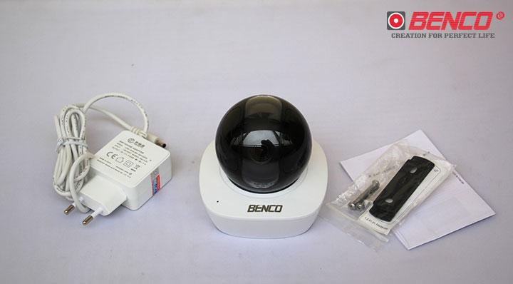 Camera wifi không dây 360 độ Benco