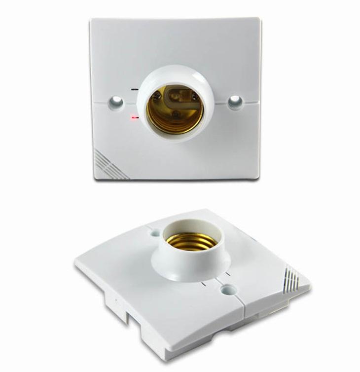 Đui đèn cảm ứng chuyển động hỗ trợ công tắc tay DZ-001W
