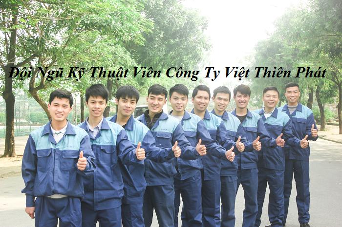 Đội ngũ kỹ thuật viên lắp đặt camera tại Hà Nội