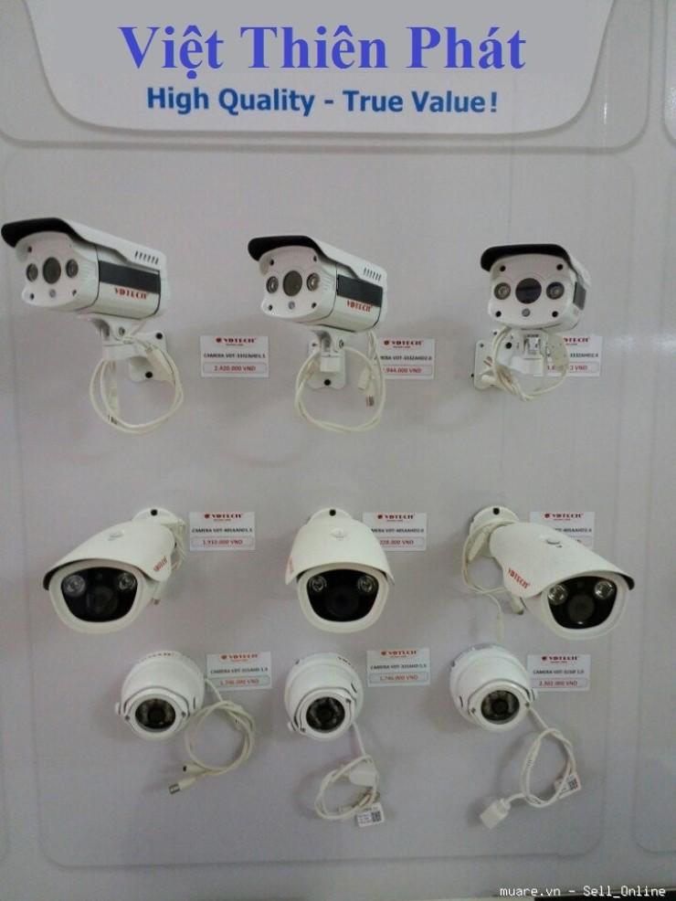 Phân phối, lắp đặt camera Hikvision, Dahua, Kbvision chính hãng tại Hà Nội