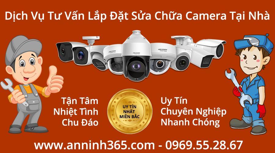 Báo giá Sửa chữa lắp đặt camera giá rẻ tại Hà Nội