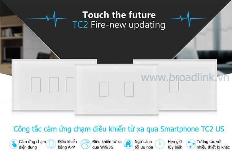 công tắc cảm ứng broadlink - nhà thông minh Việt Thiên Phát