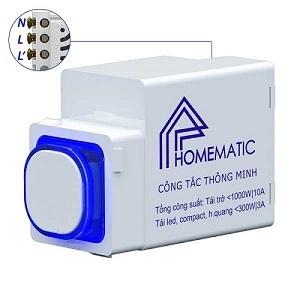 Công tắc điều khiển từ xa IR+RF HOMEMATIC HMX-3C-TIRFV1 (hạt tròn)