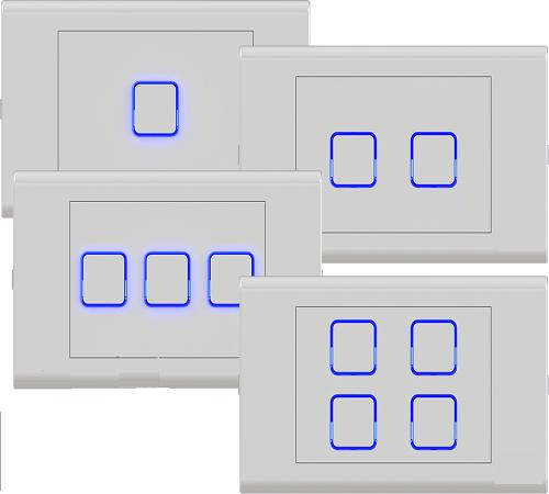 Công tắc điều khiển từ xa IR+RF HOMEMATIC HMX-3S-TIRFV1 (Hạt vuông)