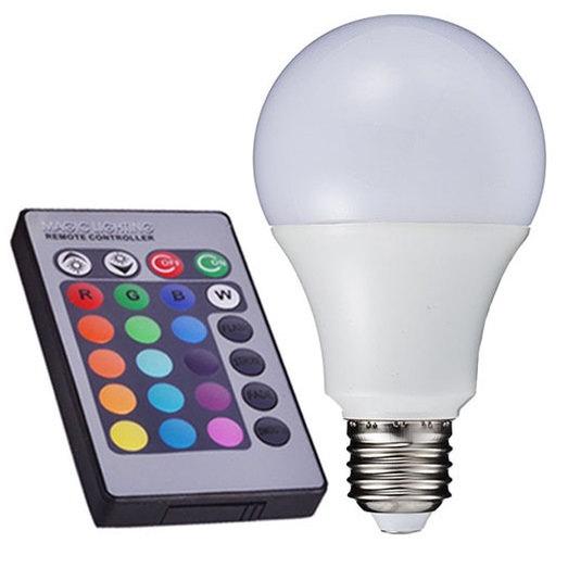 Bán Bóng đèn LED đổi màu có điều khiển từ xa RGBLED-3