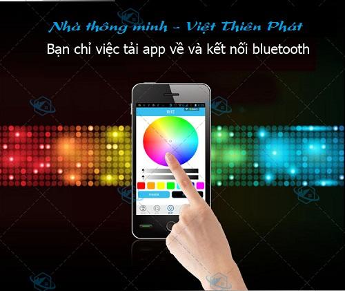 hướng dẫn sử dụng Bóng Đèn kiêm bluetooth và loa RGB-BT5