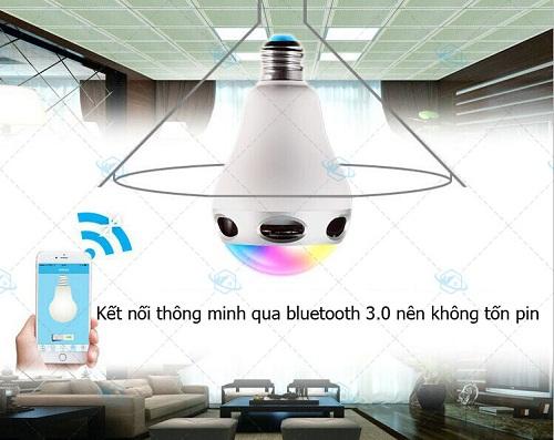 Đèn LED đổi màu kiêm bluetooth và loa RGB-BT5