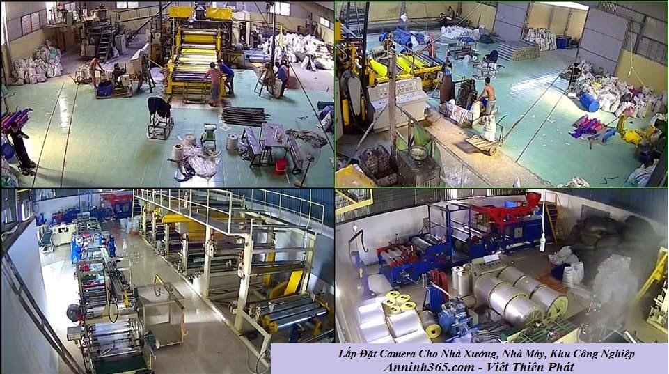 lắp đặt camera giám sát nhà xưởng, khu công nghiệp
